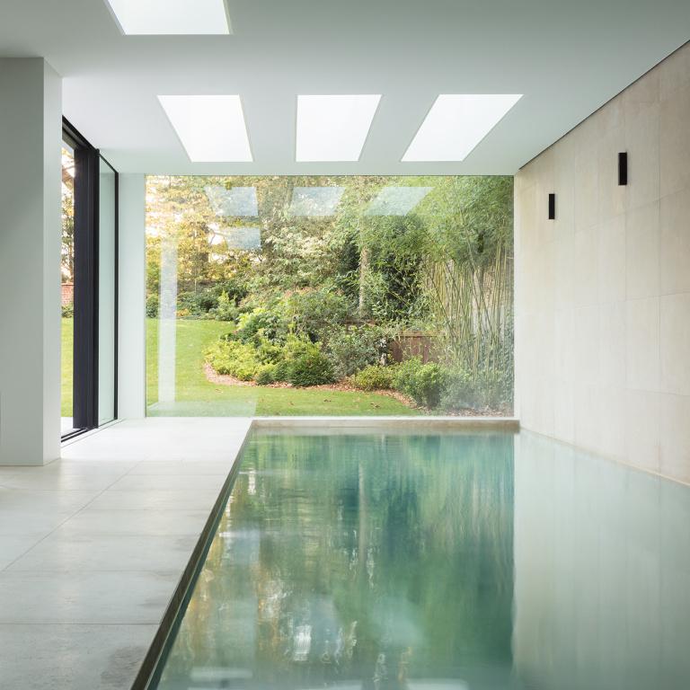 zwembad FORMANI referentieproject Herenhuis