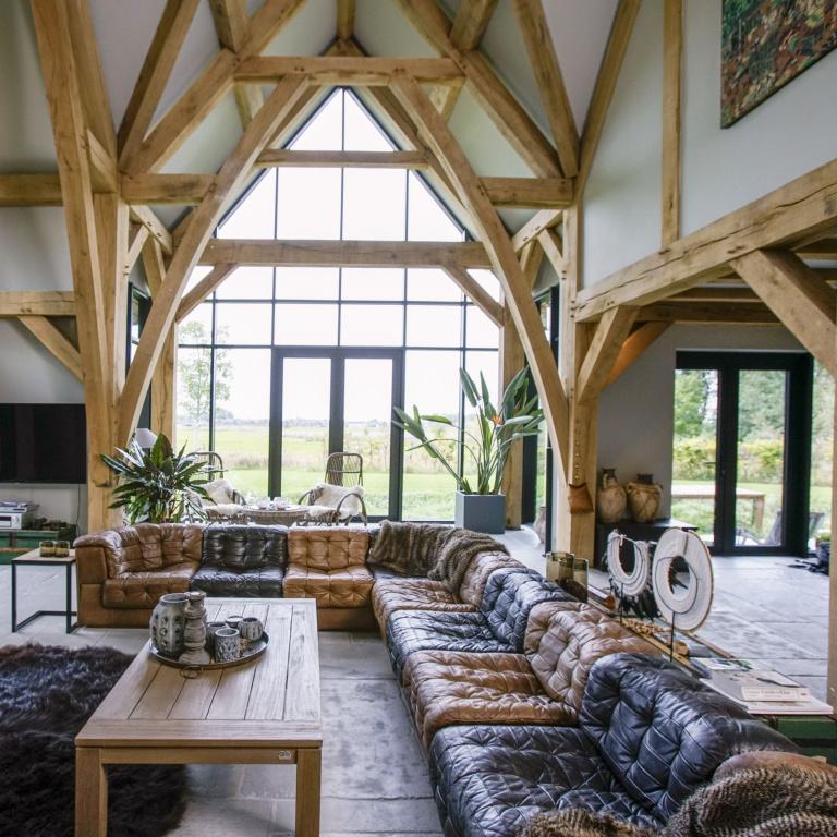 Progetto di riferimento dell'interior design Villa Groningen - FORMANI