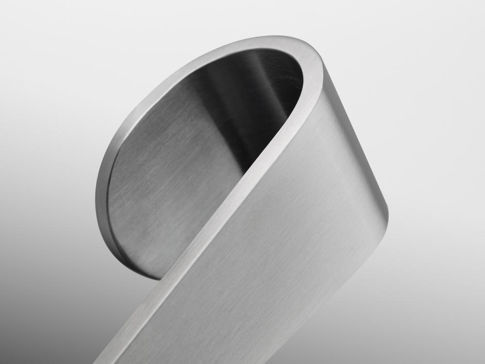 Satin stainless steel door knob - FORMANI