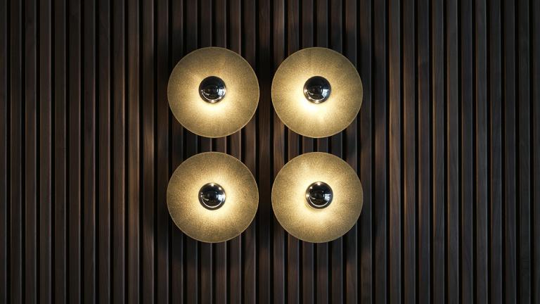 Progetto FORMANI riferimento design - restro bar Cinq - interior design