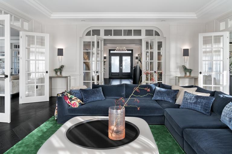 Diseño del interior salón - FORMANI referncia proyecto - Gydnia