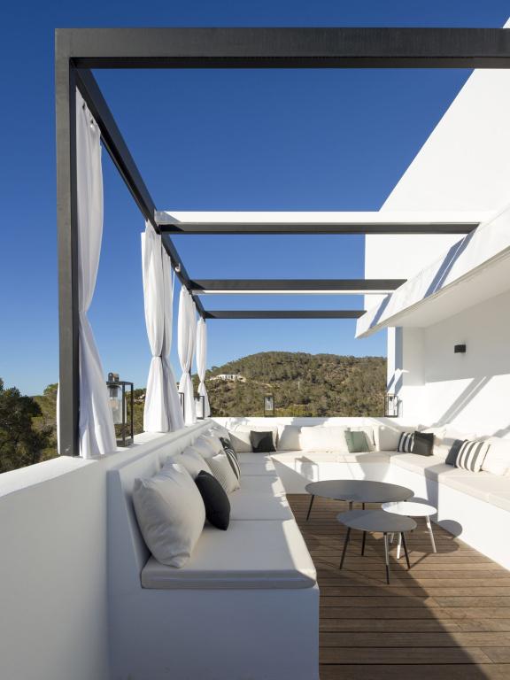 Esterno Villa per vacanze Ibiza progetto di riferimento - FORMANI