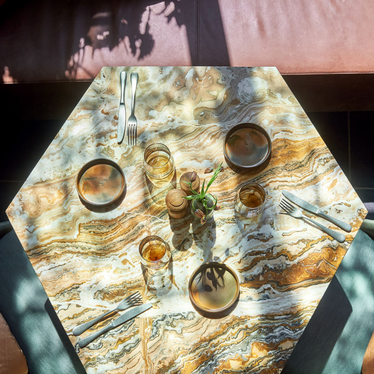 FORMANI referentieproject Restaurant HEX