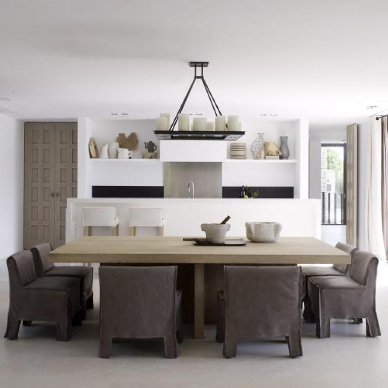 Progetto di design di riferimento FORMANI - Villa Sulla Costa Meridionale Del Portogallo - sala da pranzo