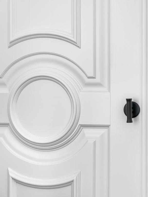 FORMANI NOUR door handle on rose