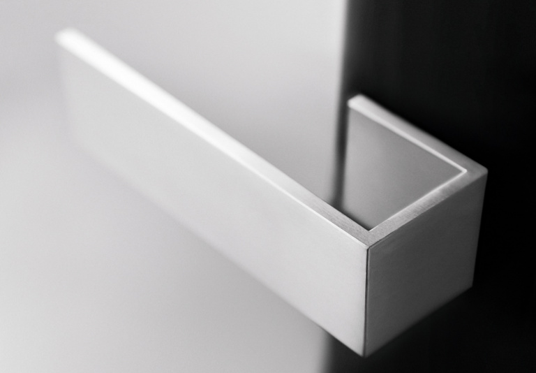 lever handle satin stainles steel
