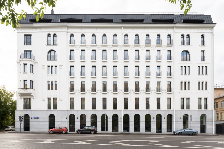 Progetto di ristrutturazione di riferimento FORMANI - Moscow Apartments Club House Bunin
