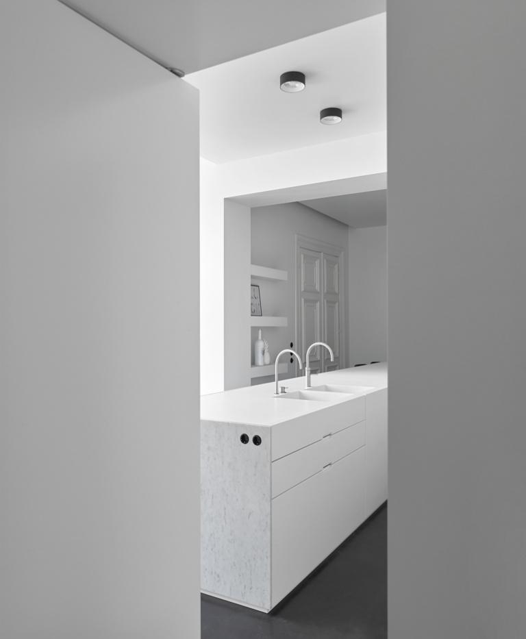 FORMANI referentie-ontwerp project - Stadswoning UK - Badkamer