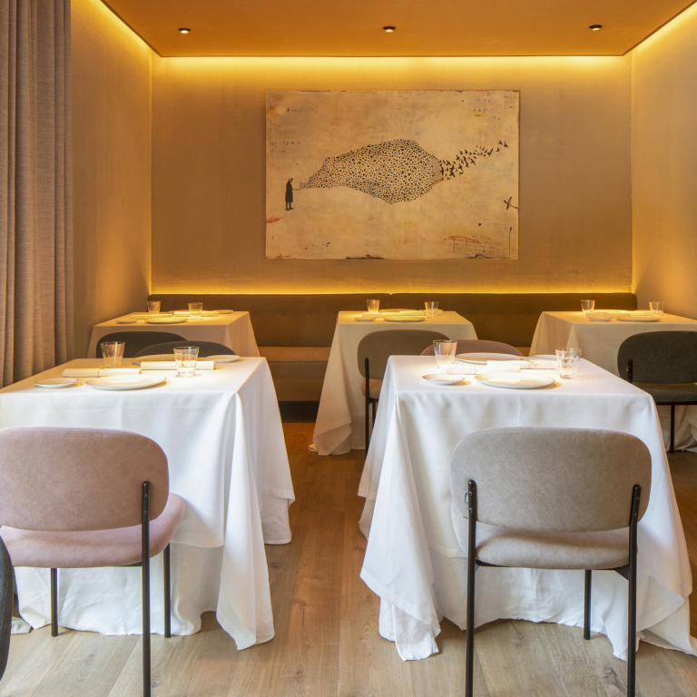 Interieur ontwerp Restaurant Clos - FORMANI referentie project