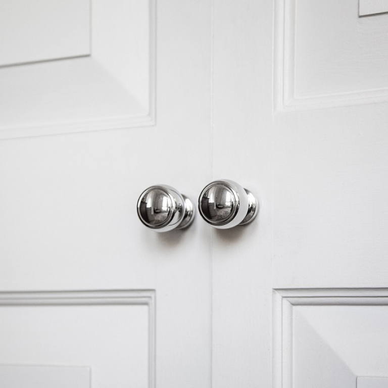 cabinet knobs satin stainless steel - Formani