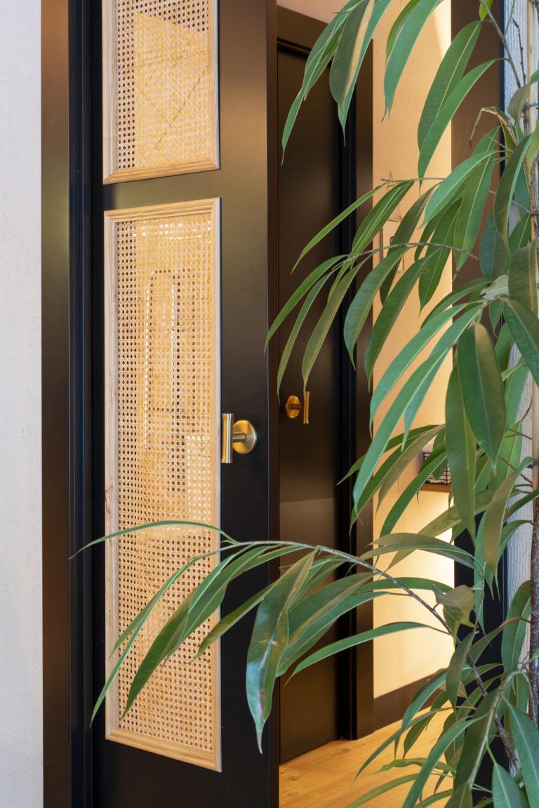 T-vormige deurkruk mat goud - FORMANI