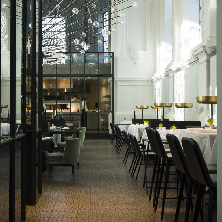 Interieur design restaurant The Jane
