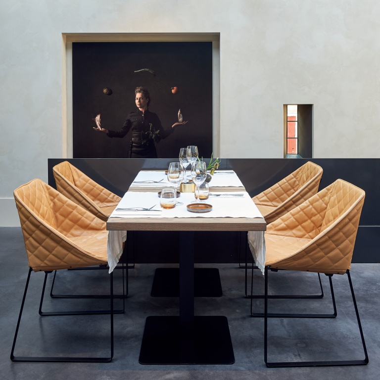 Interieur design restaurant Hex