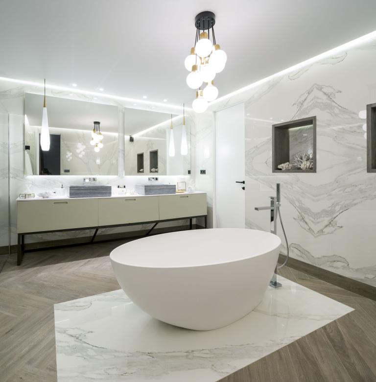 bathroom interior design reference project holiday villa Ibiza - Formani