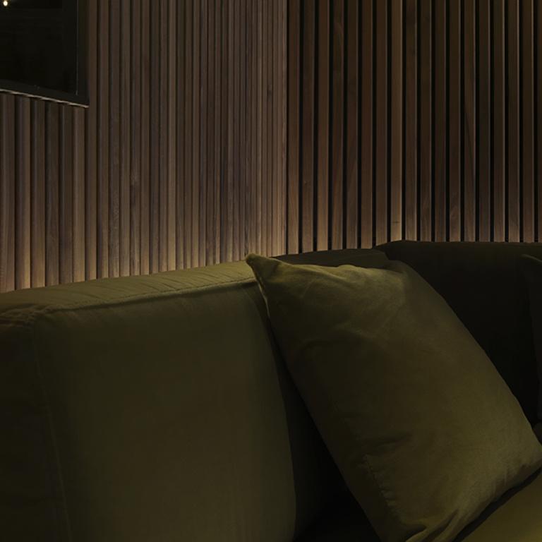 design d'interni restro bar Cinq - progetto FORMANI riferimento