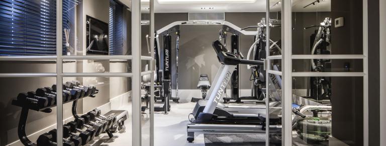 Gym - de Menop Villa - Formani reference project