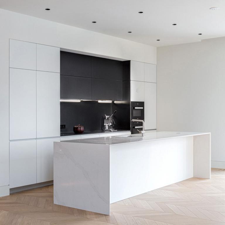 Cucina design interno Club House Bunin, Mosca Appartamenti - progetto di riferimento FORMANI