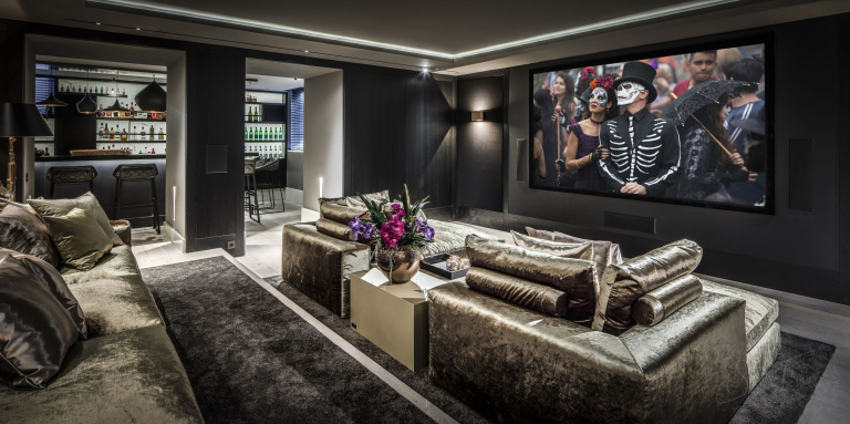 Sofisticato design d'interni di Kabaz Architects - progetto di riferimento FORMANI