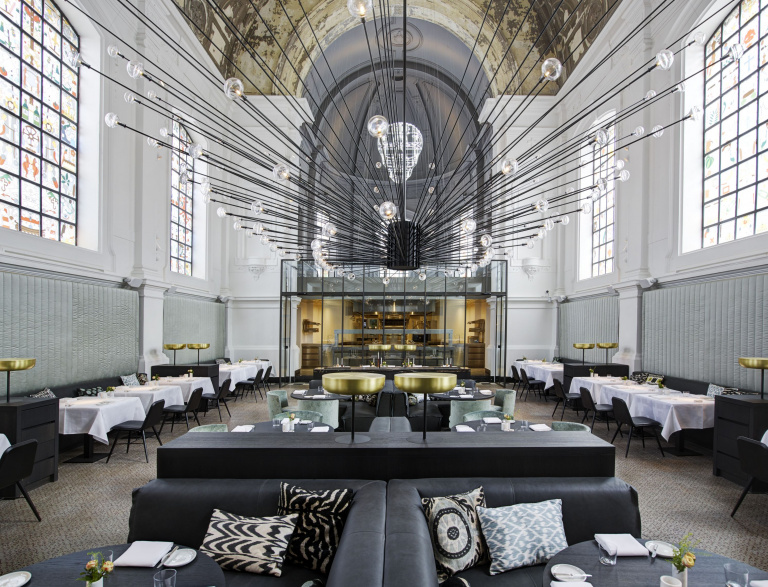 Restaurant The Jane - FORMANI Referentieproject