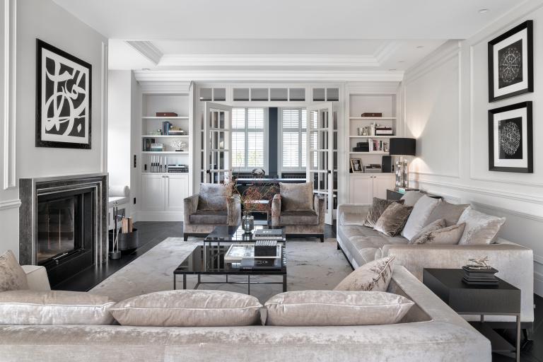 Diseño del interior salón de estar - FORMANI referncia proyecto - Gydnia