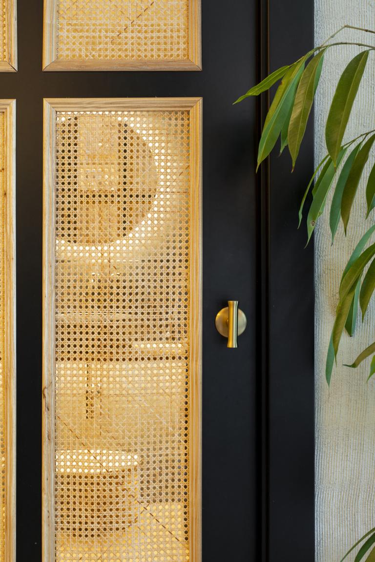 T-vormige deurkruk mat goud