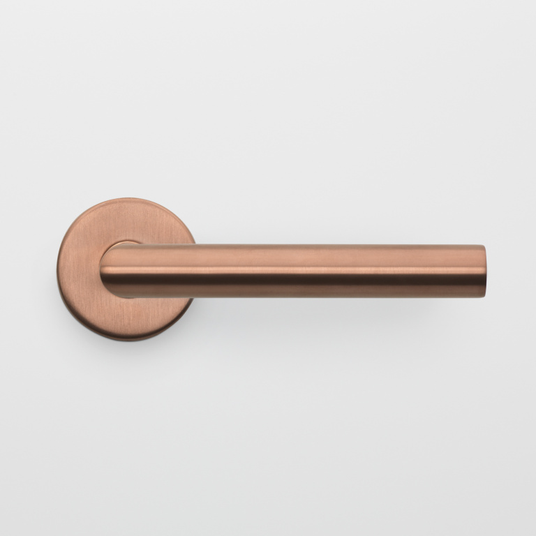 maniglia della porta PVD bronzo satinato