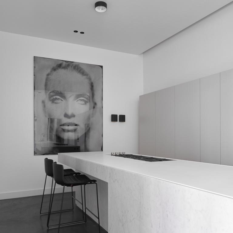 FORMANI referentie ontwerp project - Stadswoning - Interieur ontwerp keuken