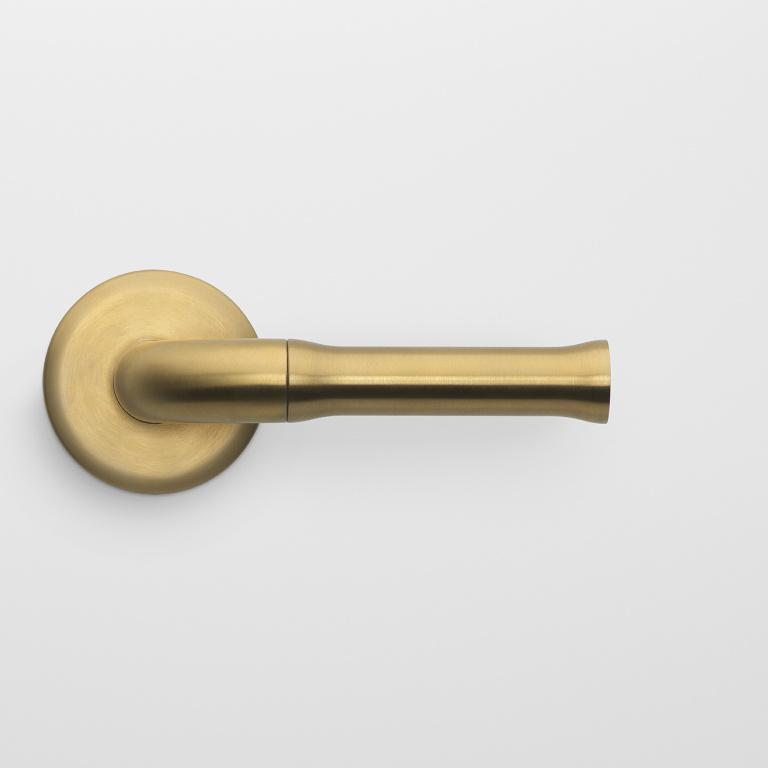 Manilla de la puerta PVD oro mate