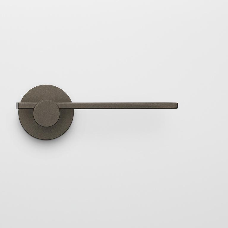 Manilla de la puerta de bronce